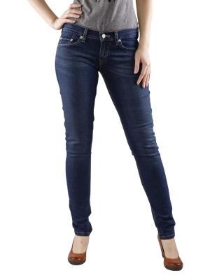 Levis 524 Skinny Jeans blue