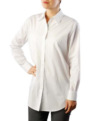 Maison Scotch Button Up Boyfriend Shirt white