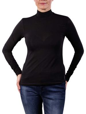 Maison Scotch Turtleneck Fine Jersey Pullover black
