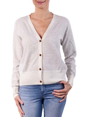 Maison Scotch Classic Cardigan Pullover oatmeal melange
