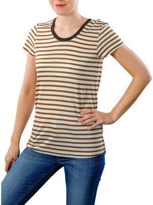 Maison Scotch Basic T-Shirt Striped combo b