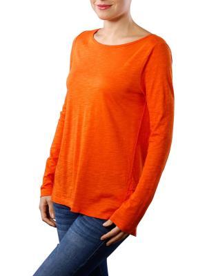 Marc O'Polo T-Shirt Long Sleeve burnt orange