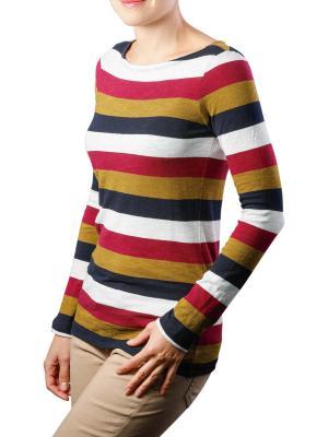 Marc O'Polo T-Shirt Long Sleeve Boat Neck combo L21