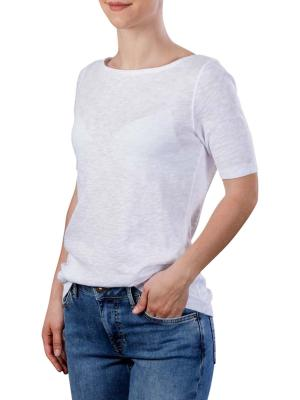 Marc O'Polo T-Shirt Boat Neck white