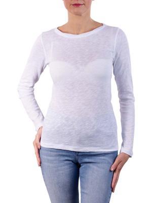 Marc O'Polo T-Shirt Longsleeve Round Neck white
