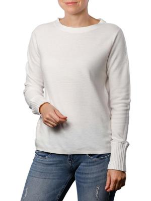 Marc O'Polo Pullover Structured soft white