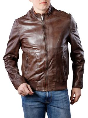 Milestone Genf Jacket middle brown