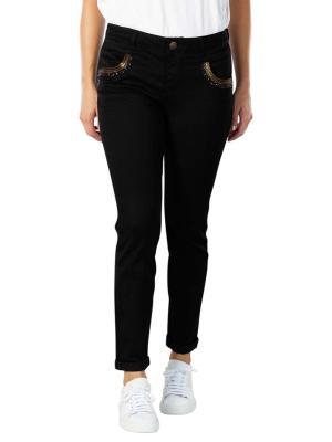 Mos Mosh Naomi Jeans Long Mercury black