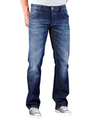 Mustang Michigan Straight Jeans dark rinse wash