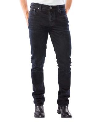 Nudie Jeans Grim Tim black sparkles