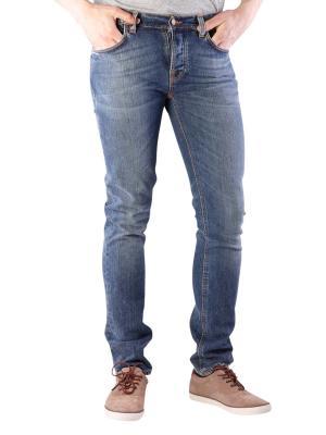 Nudie Jeans Grim Tim shaded blue