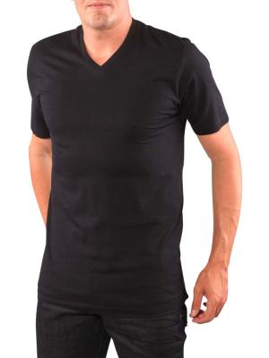 Olymp 2-Pack T-Shirt V-Neck black