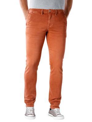 Pepe Jeans James Pant washed colours cognac