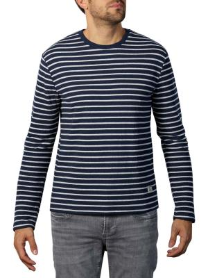 Pepe Jeans Anderson Melange Stripe Sweater deep sea