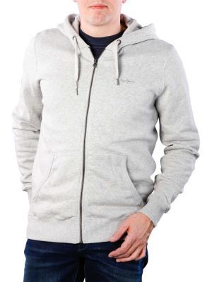 Pepe Jeans Zip Front Hoodie Sweat grey marl
