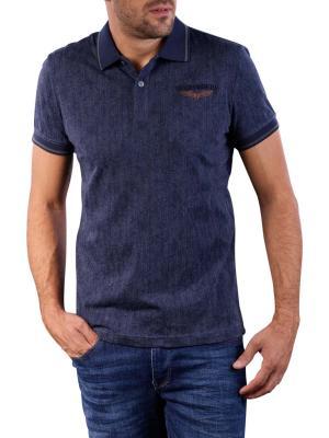 PME Legend Short Sleeve Polo Single Jersey dark