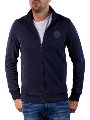 PME Legend Zip Jacket Structure Sweat dark
