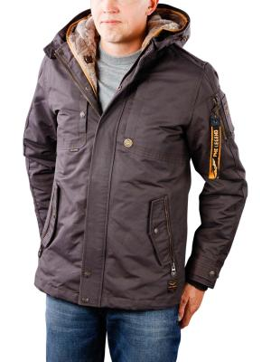 PME Legend Hooded Jacket Snowpack brown