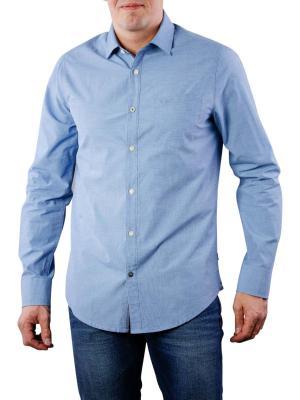 PME Legend Shirt Fil A Fil office blue