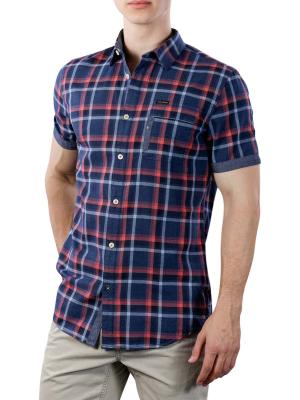 PME Legend short Sleeve Shirt Twill Check 5287