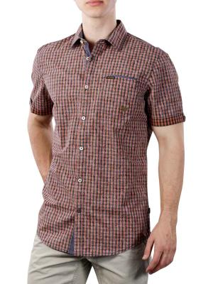 PME Legend Short Sleeve ShirtYD check all-over print 3068