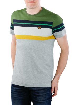 PME Legend Short Sleeve R-Neck Shirt print