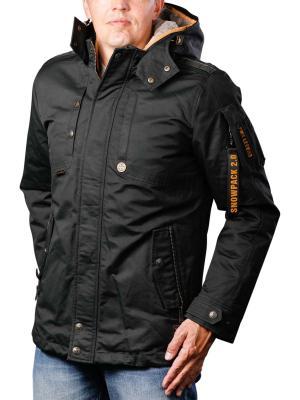 PME Legend Hooded Jacket Snow 9073