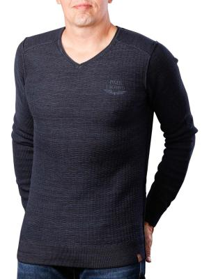 PME Legend V-Neck Cotton Mouline 5281