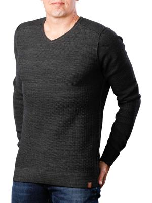 PME Legend V-Neck cotton Mouline 9073