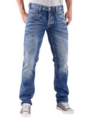 PME Legend Bare Metal Jeans washed blue denim