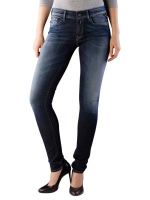 Replay Luz Jeans Skinny Hyperflex Stretch dark denim