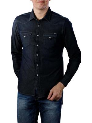 Replay Shirt navy blue hyperflex