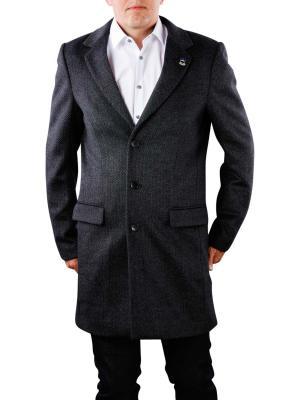 Scotch & Soda Classic 3 Button Coat in wool