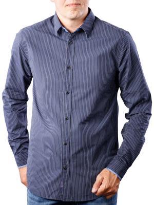 Scotch & Soda Classic Yarn Dye Shirt blue dark