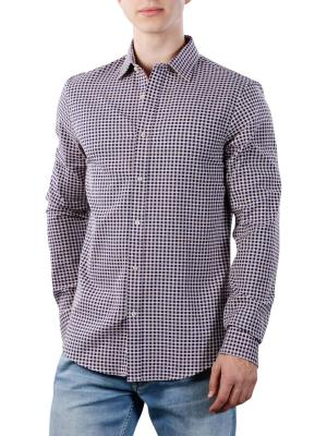 Scotch & Soda Chic Shirt In Structured Weave 0220