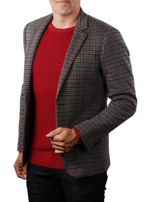 Scotch & Soda Knitted Blazer Yarn-Dyed Check Pattern 0218