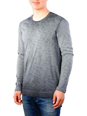 Scotch & Soda Long Sleeve T- Shirt oil-washed