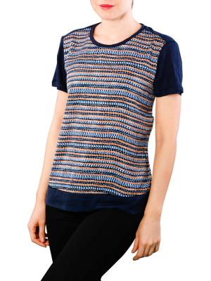 Maison Scotch Mixed Print T-Shirt 597