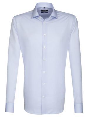 Seidensticker Hemd Shaped Fit Kent bügelfrei light blue