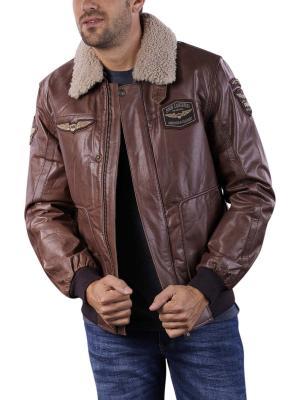 PME Legend Bomber Jacket Buff Hudson brown