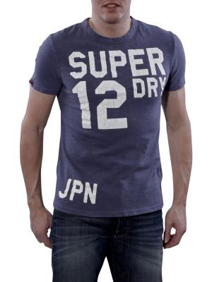 Superdry Trainer Entry Tee tumbled blue