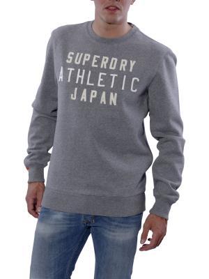Superdry Japan Athlethic Crew Neck dark marl