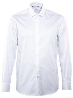 THE BASICS Hemd Modern Fit Hai bügelleicht white