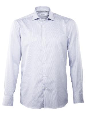 THE BASICS Hai Shirt Modern Fit mid blue
