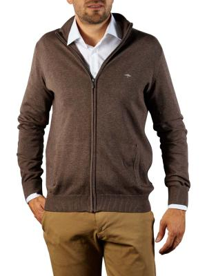 Fynch-Hatton Cardigan-Zip Sweater earth