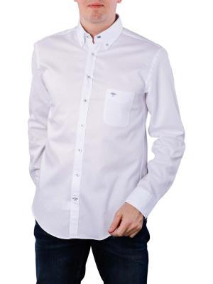 Fynch-Hatton Solid Summer Shirt white