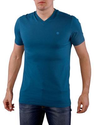 Timberland SS Dunstar V-Neck T-Shirt legion blue