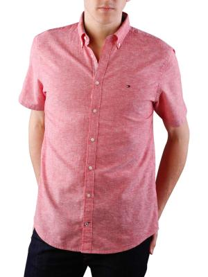Tommy Hilfiger Cotton Linen Shirt apple red