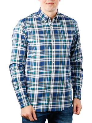 Tommy Hilfiger Slim Multicolor Check Shirt blue/multi