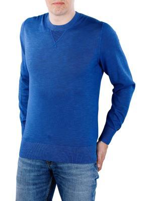 Tommy Hilfiger Pastel Garment Dyed Sweater blue quarz